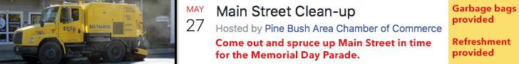 Pine Bush Main Street Clean-up